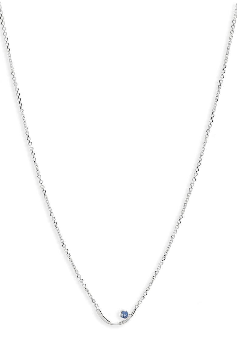 WWAKE Arc Lineage Necklace, Main, color, 040