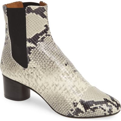 Isabel Marant Danae Chelsea Bootie, Ivory