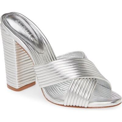 Schutz Emma Dale Sandal- Metallic