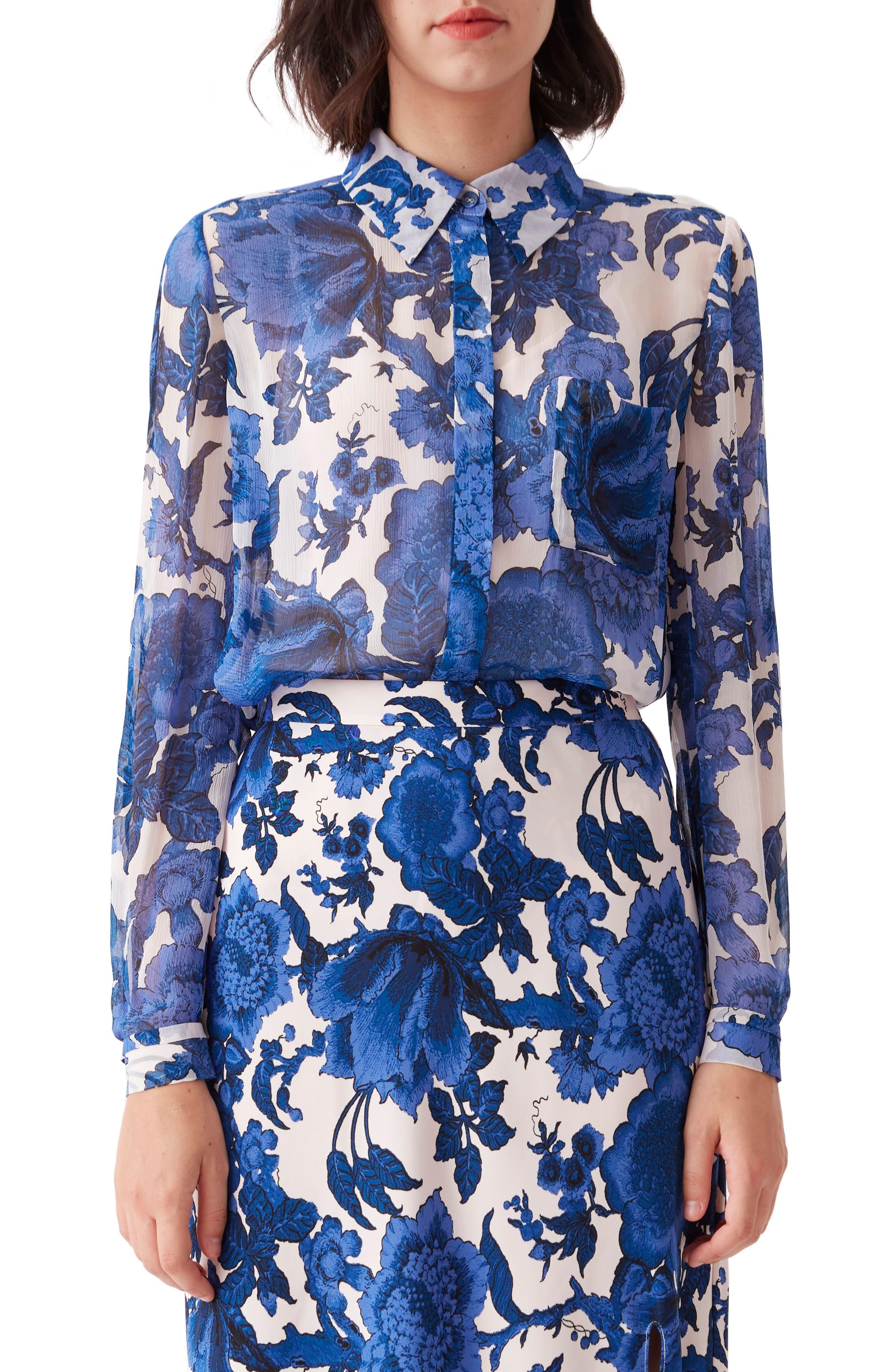 Lorelai Floral Button-Up Shirt
