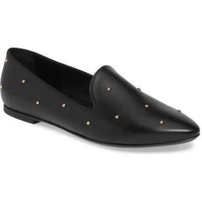 Agl Studded Loafer - Black