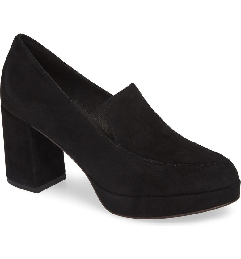 EILEEN FISHER Becon Pump, Main, color, BLACK SUEDE