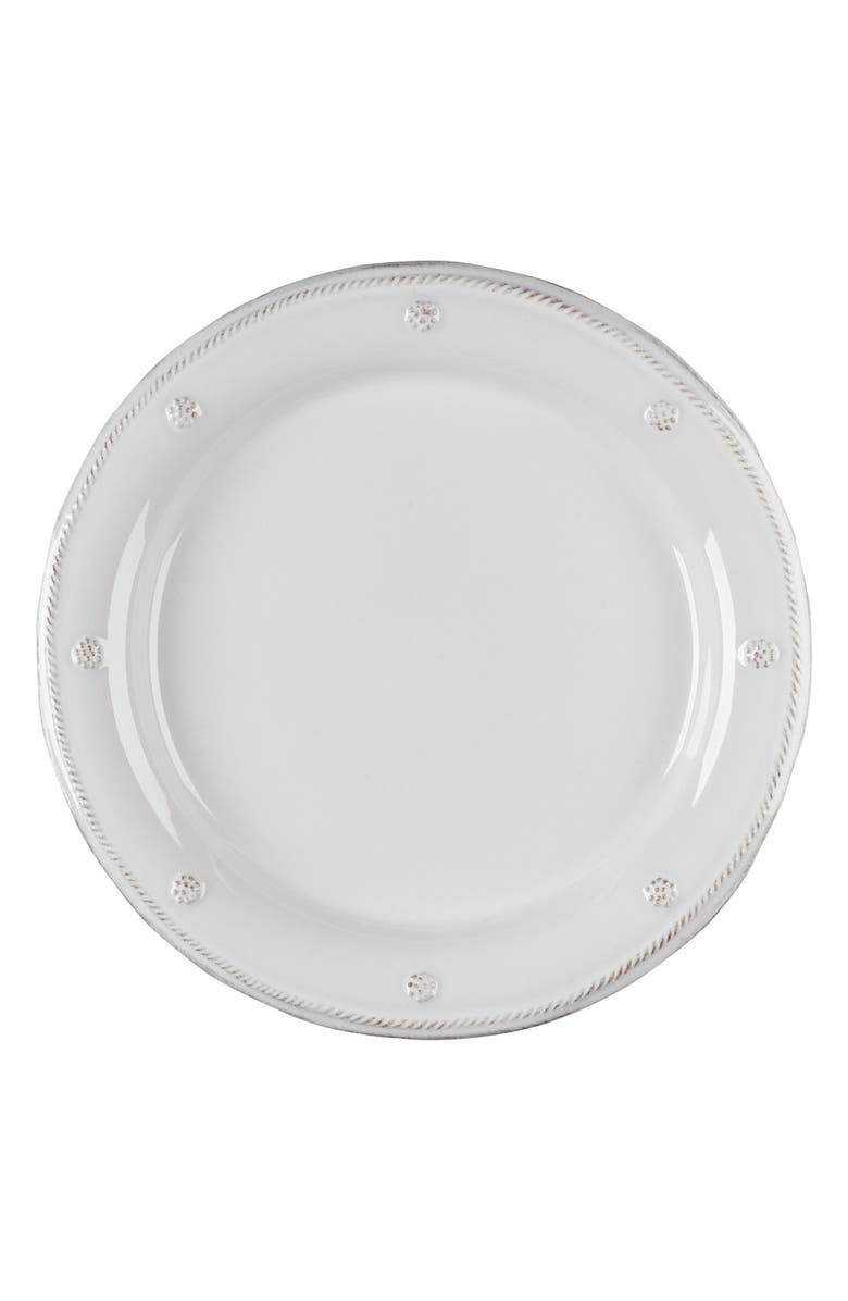 JULISKA 'Berry and Thread' Dinner Plate, Main, color, WHITEWASH