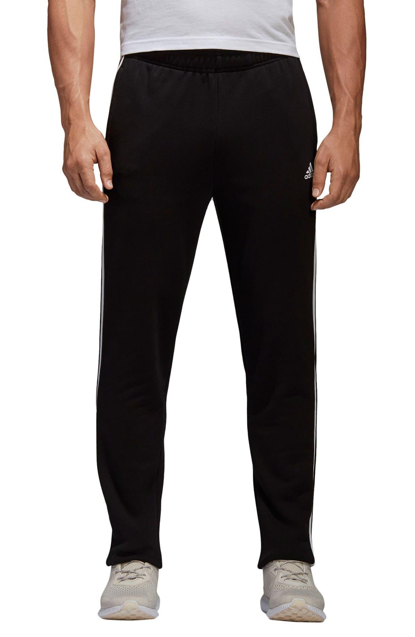 Men's Adidas Essentials 3-Stripes Regular Fit Sweatpants