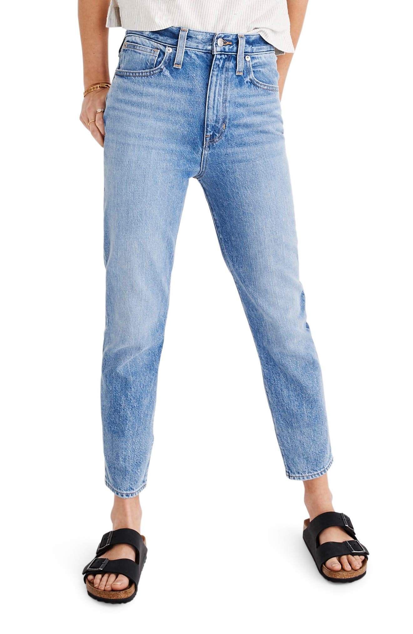 Madewell The Momjean High Waist Jeans (Melva)