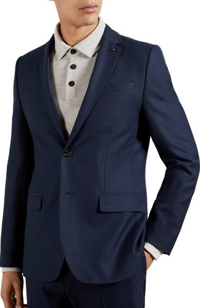 Ted Baker ESKK STRETCH SOLID BLAZER