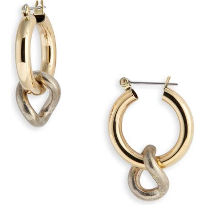 Laura Lombardi Onda Charm Earrings