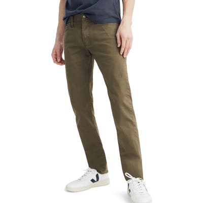 Madewell Garment Dyed Slim Fit Jeans