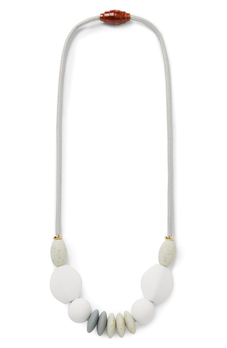 JANUARY MOON Moonlight Signature Teething Necklace, Main, color, 100