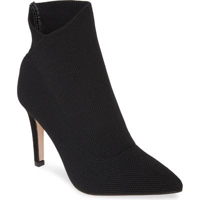 Mia Margerie Knit Bootie, Black