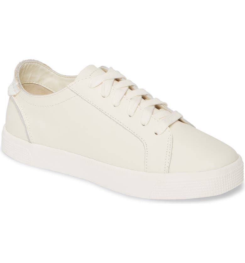 DOLCE VITA Zia Sneaker, Main, color, WHITE LEATHER
