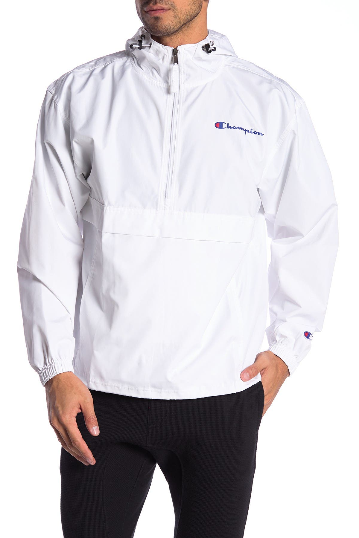 Champion Womens Packable Jacket-Solid
