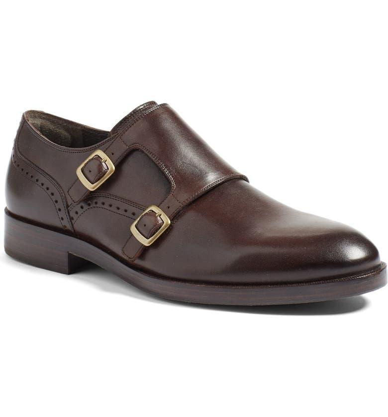 COLE HAAN 'Harrison' Double Monk Strap Shoe, Main, color, 205