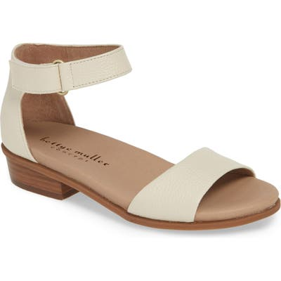 Bettye Muller Concepts Bello Ankle Strap Sandal, White