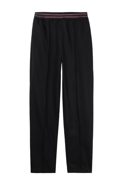 Image of FRNCH Metallic Waistband Pull-On Pants