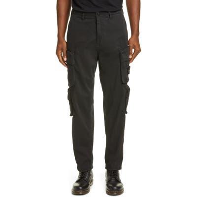Stone Island Regular Fit Cargo Pants, Black