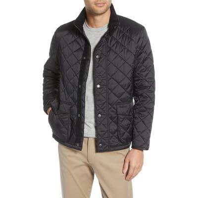 Barbour Evanton Quilted Jacket, Black