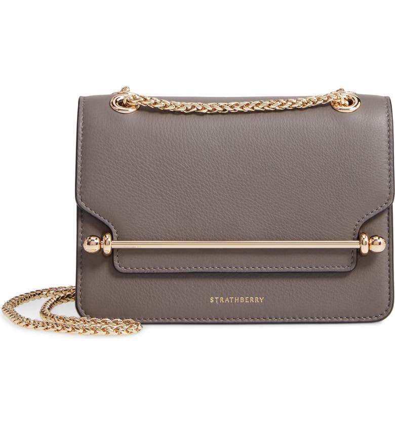 STRATHBERRY Mini East/West Leather Crossbody Bag, Main, color, 020