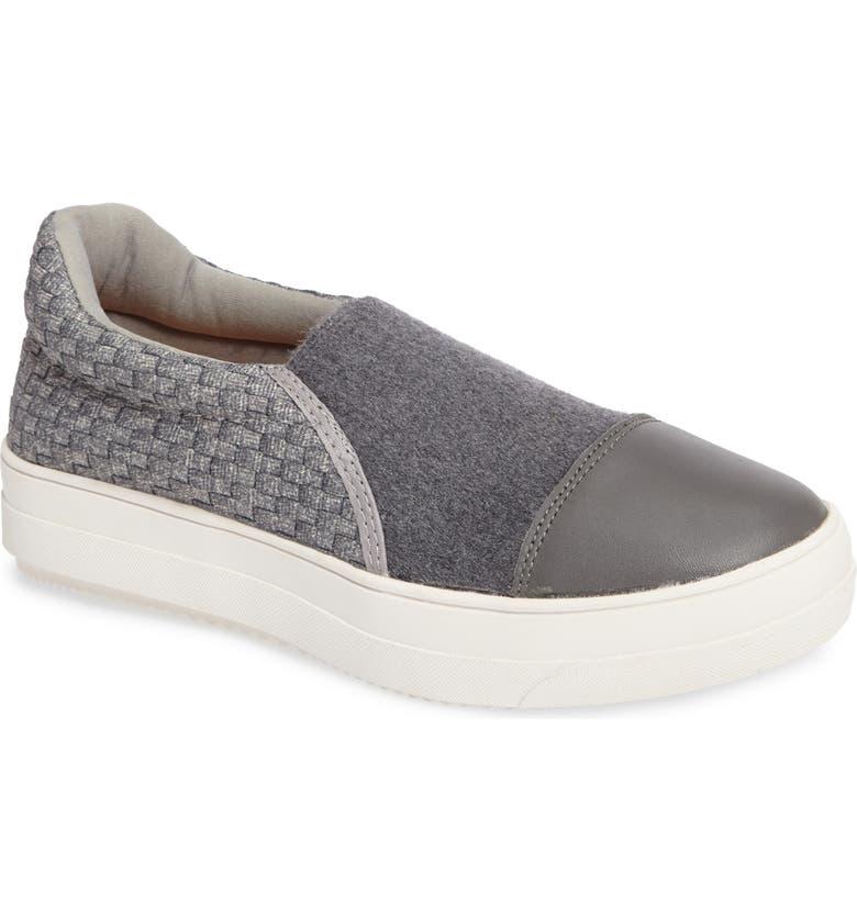 BERNIE MEV. Dynasty Sneaker, Main, color, HEATHER GREY FABRIC