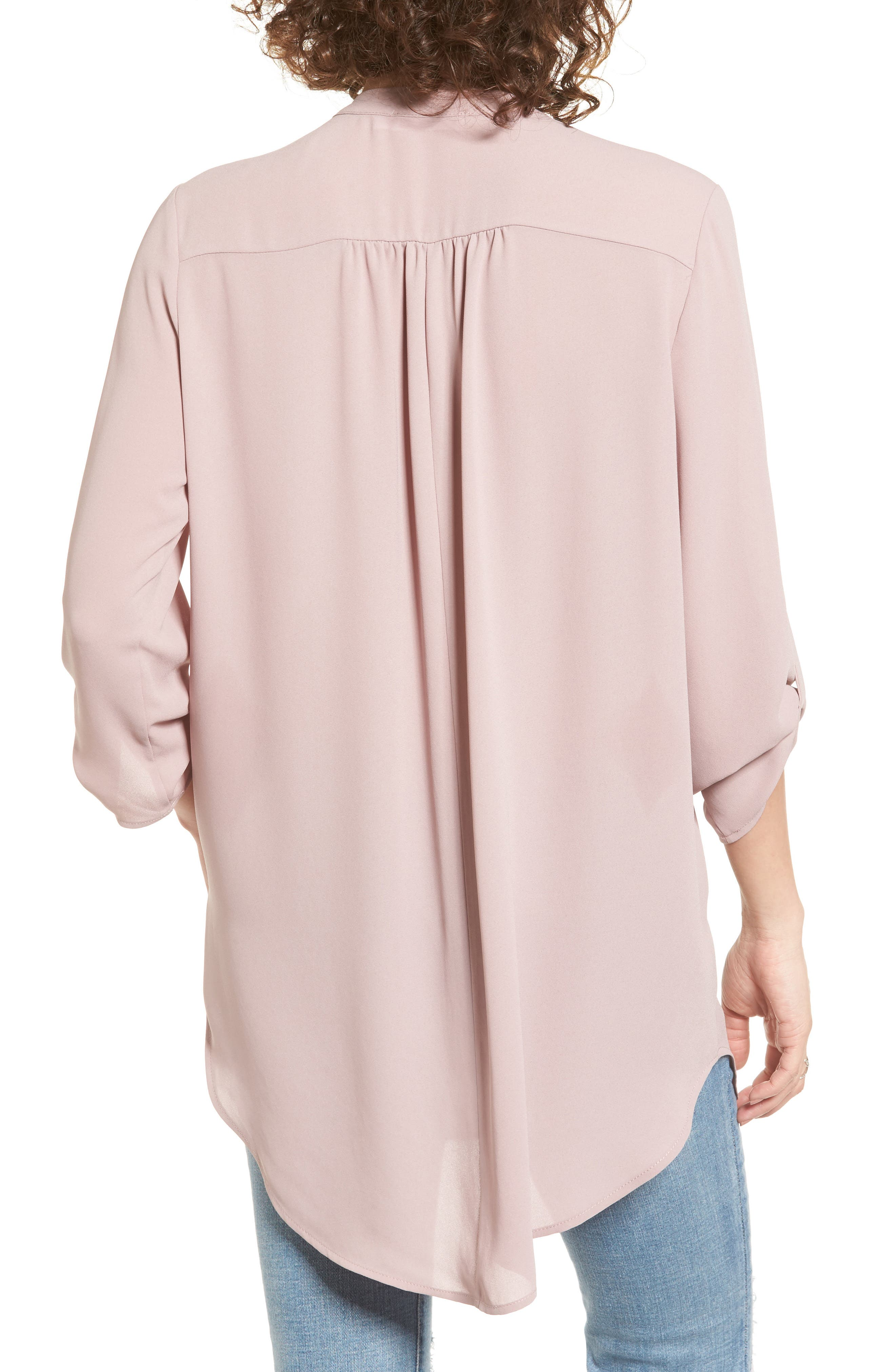 ,                             Perfect Roll Tab Sleeve Tunic,                             Alternate thumbnail 331, color,                             553
