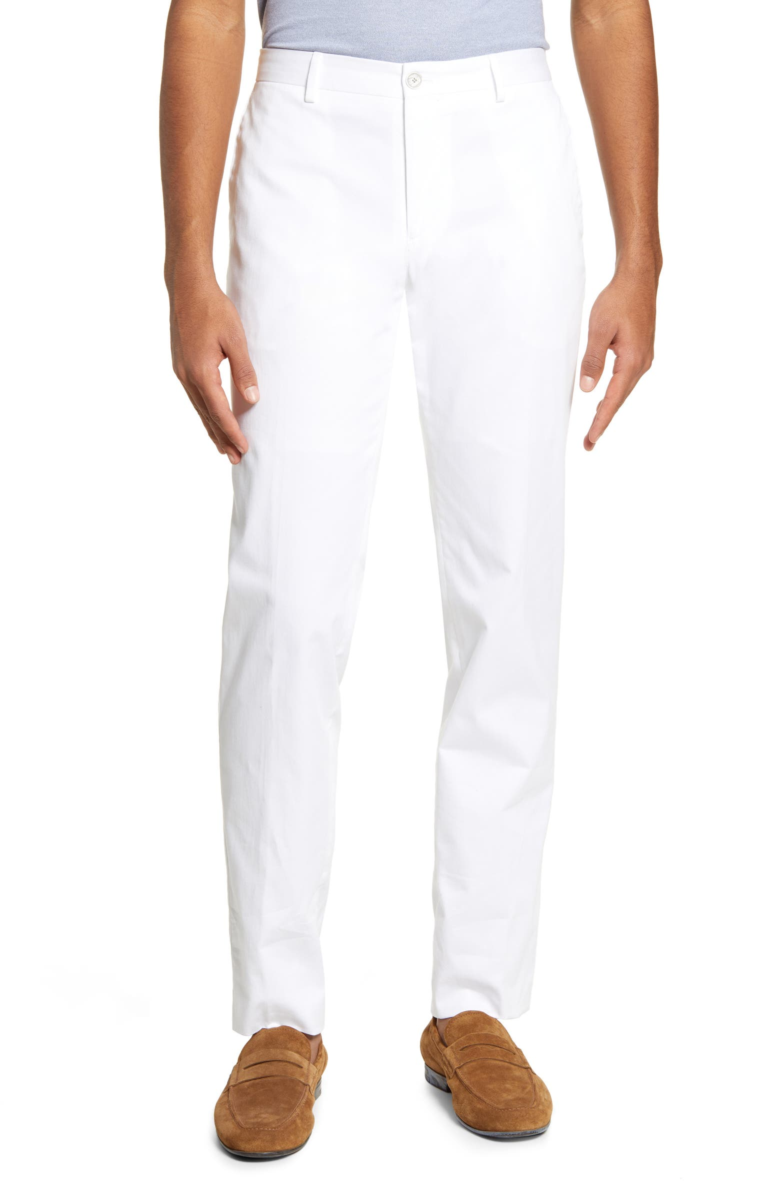 Stanino Slim Fit Stretch Chino Pants BOSS