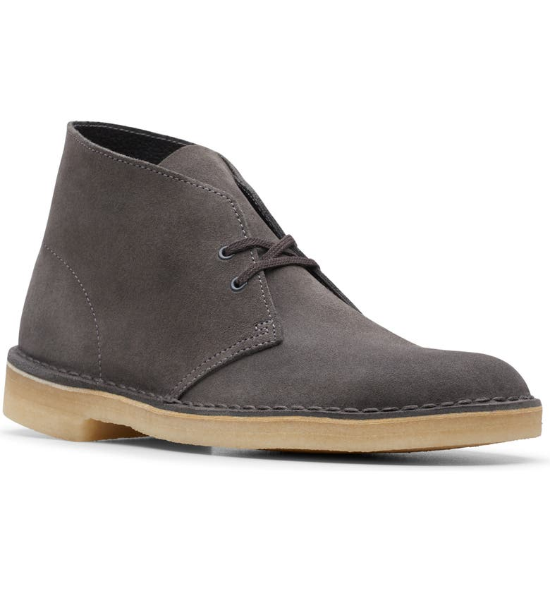 CLARKS<SUP>®</SUP> Desert Chukka Boot, Main, color, SLATE GREY SUEDE