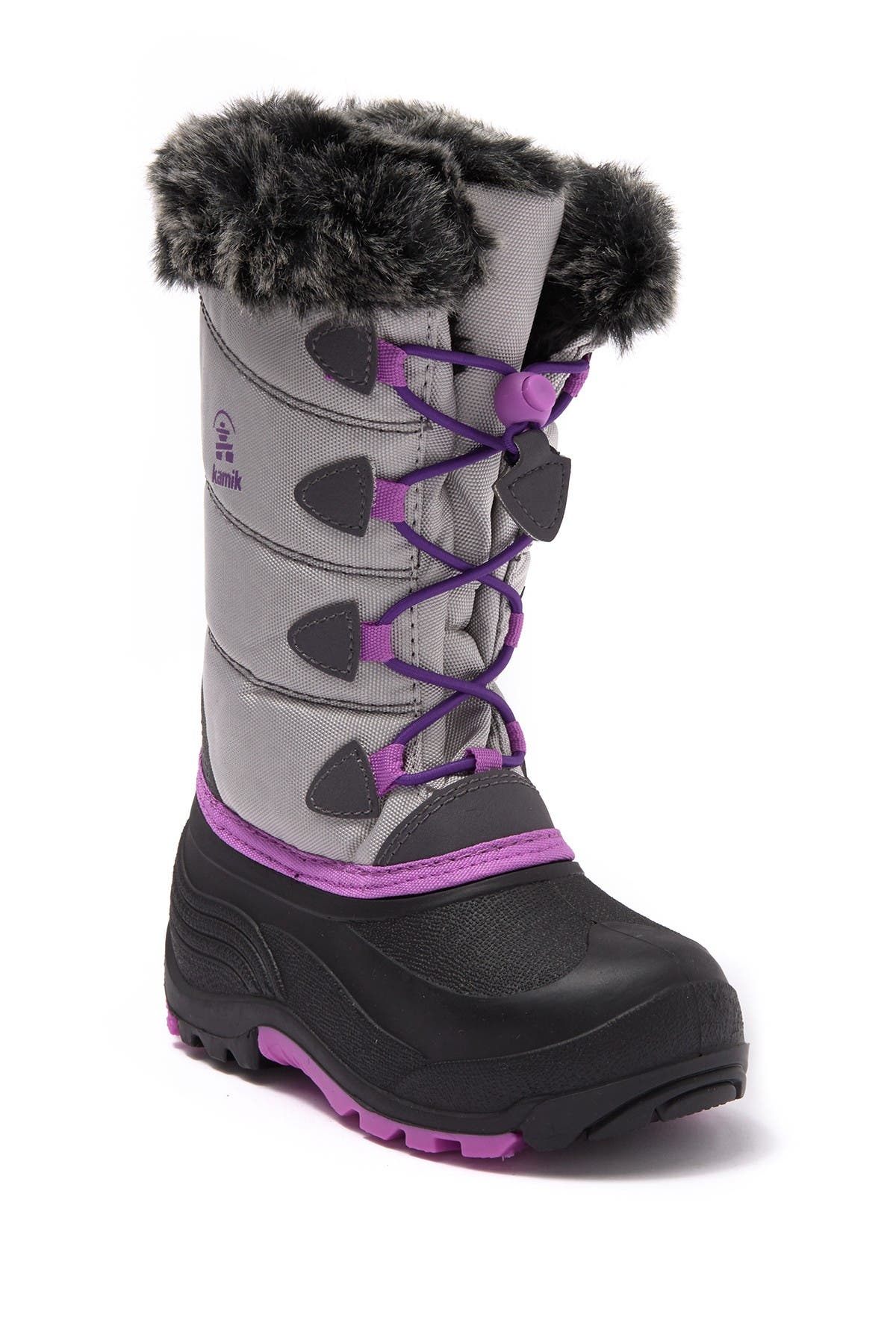 Image of Kamik SnowGypsy3 Waterproof Faux Fur Trim Boot