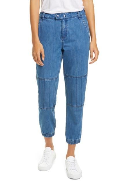Rag & Bone Pants MILITARY CROPPED DENIM PANTS