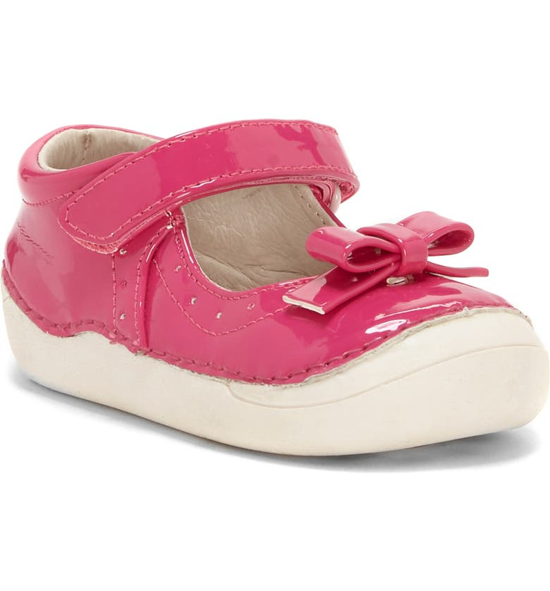 SOLE PLAY Gracelyn Mary Jane Flat, Main, color, PINK PUNCH