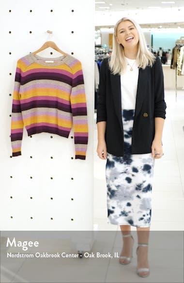 Cashmere Multi Stripe Sweater, sales video thumbnail