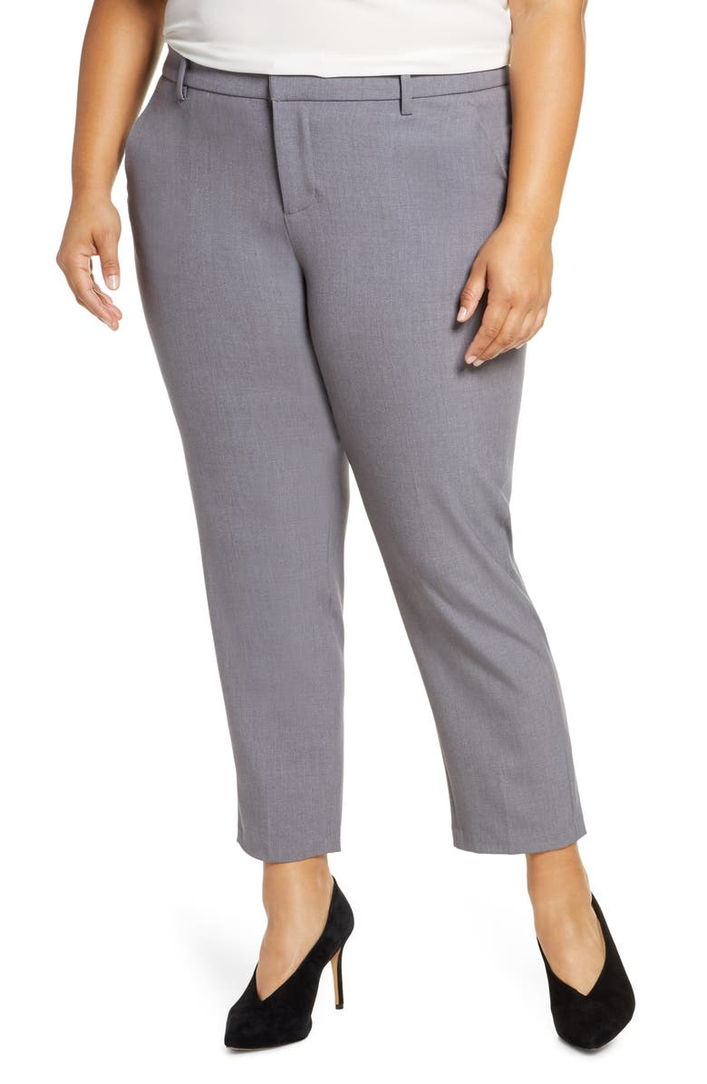 LIVERPOOL Skylar Trousers, Main, color, SILVER MIST