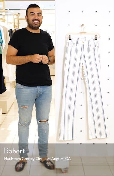 Le High Flare Birkin Stripe Jeans, sales video thumbnail