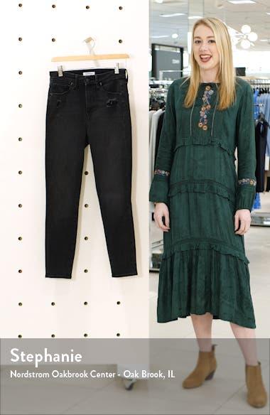 Good Waist Ripped High Waist Crop Jeans, sales video thumbnail