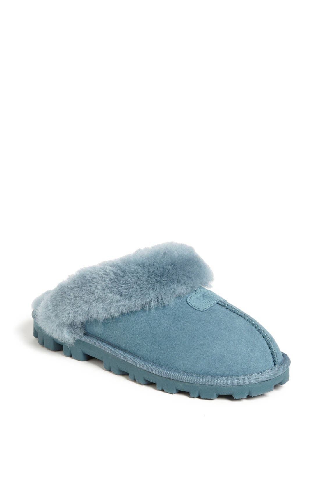 ,                             Genuine Shearling Slipper,                             Main thumbnail 126, color,                             473