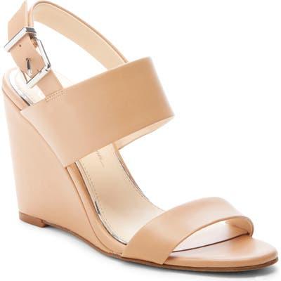 Jessica Simpson Wyra Wedge Sandal, Brown