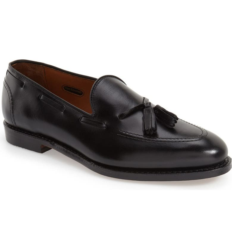 ALLEN EDMONDS 'Acheson' Tassel Loafer, Main, color, BLACK