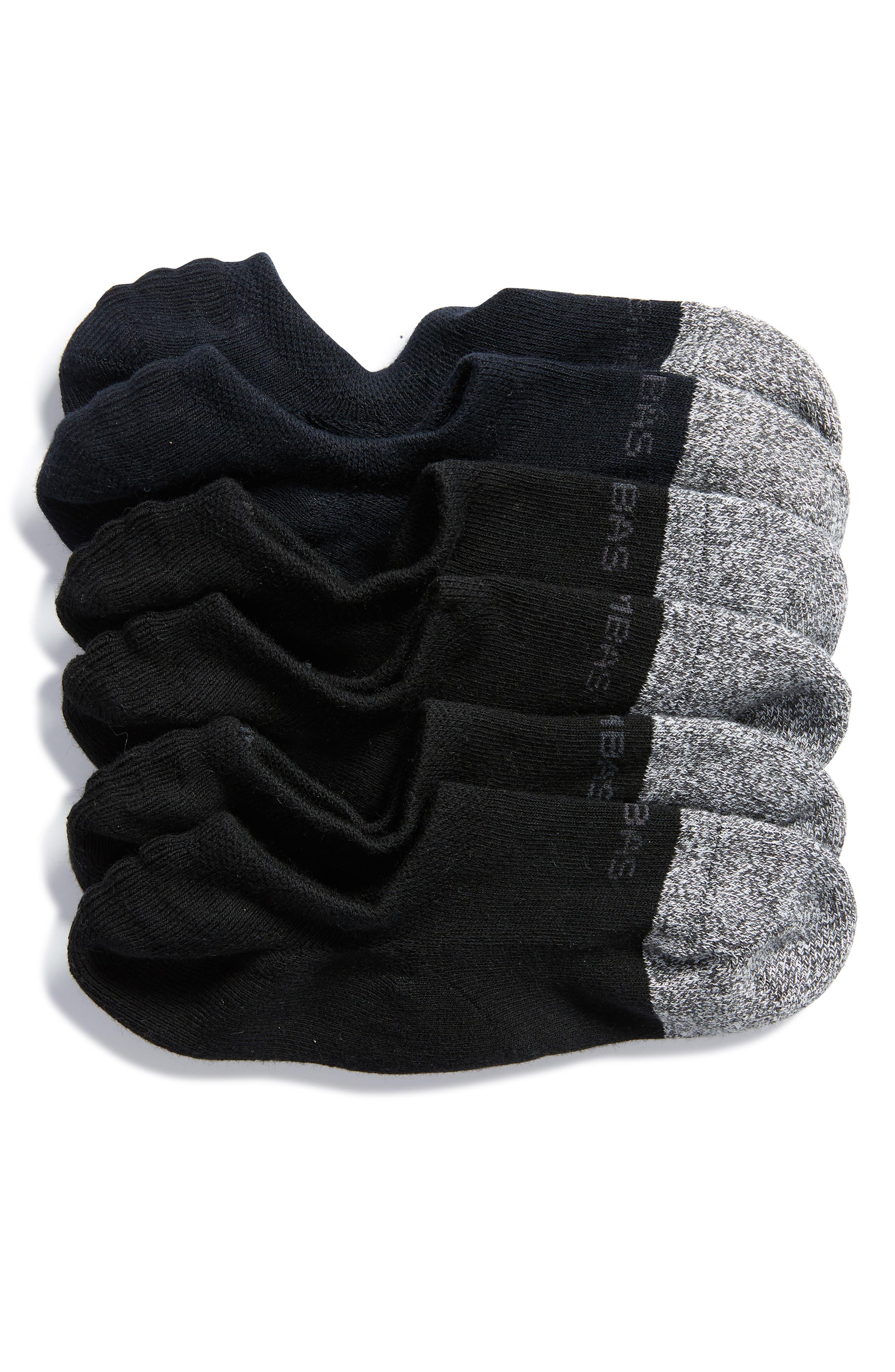 Bombas 3-Pack Cushioned No-Show Socks