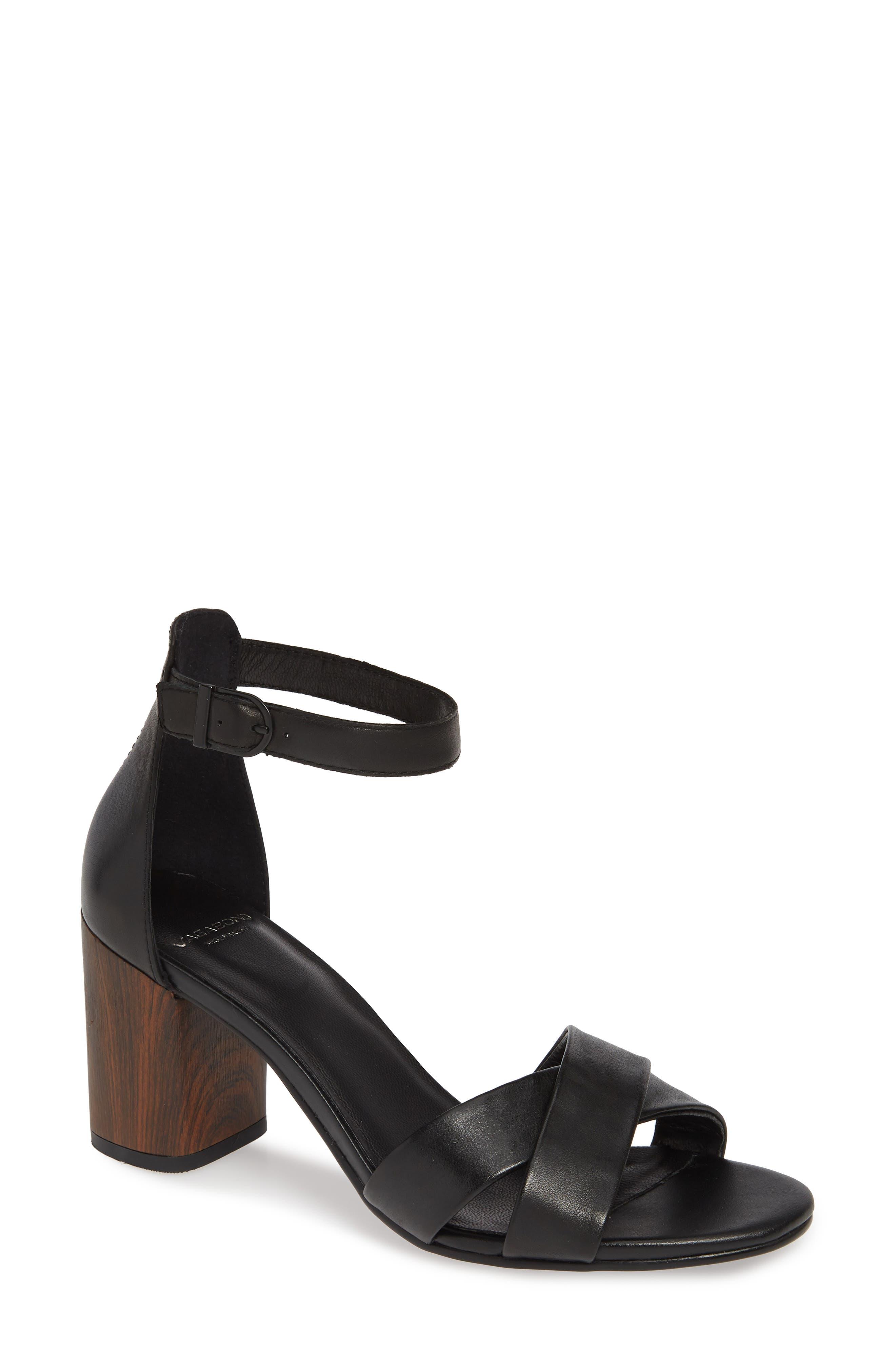 af224c6286 Vagabond Shoemakers Carol Ankle Strap Sandal, Black