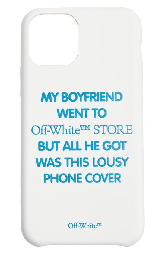 Off-White MY BOYFRIEND IPHONE 11 PRO CASE