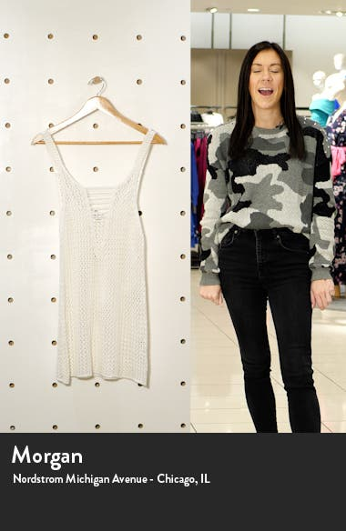 Meshin Cover-Up Minidress, sales video thumbnail