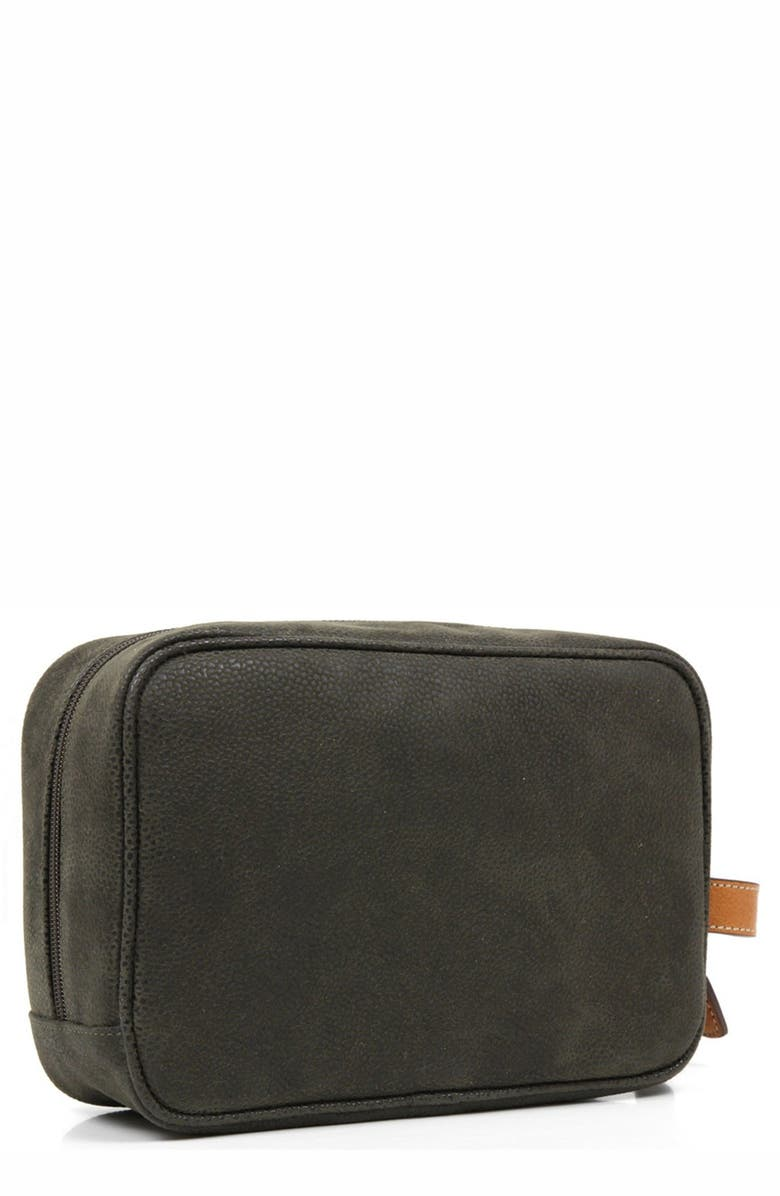 BRIC'S 'Life' Shave Case, Main, color, OLIVE