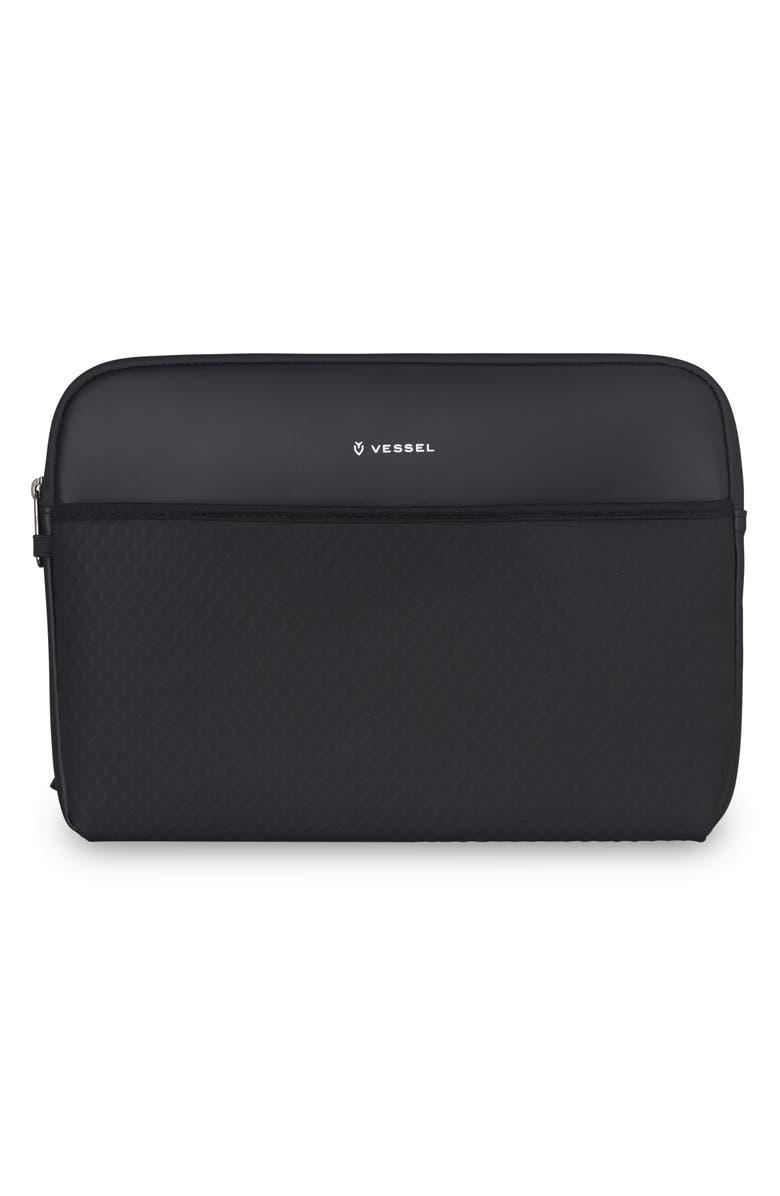 VESSEL Large Laptop Sleeve, Main, color, BLACK