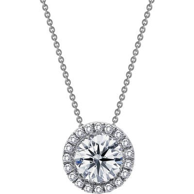 Lafonn Simulated Diamond Halo Pendant Necklace