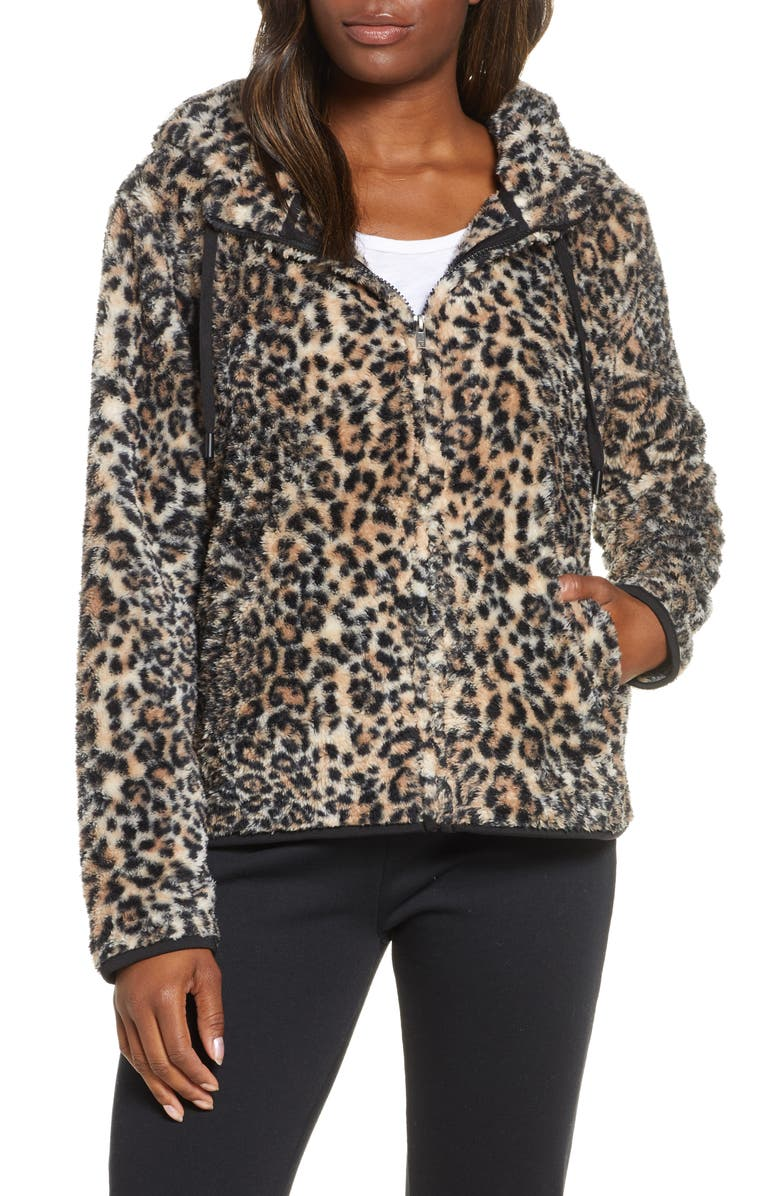 PJ SALVAGE Cool & Cozy Faux Fur Jacket, Main, color, 250