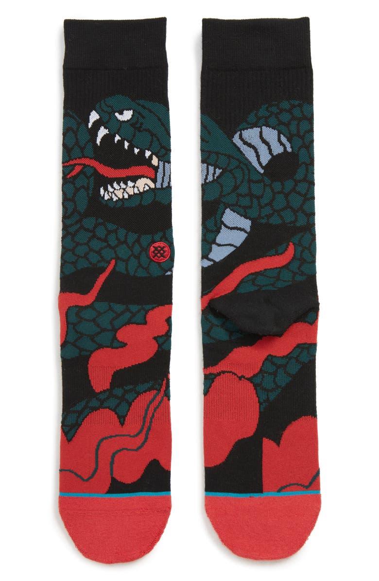 STANCE Permanent Socks, Main, color, 001