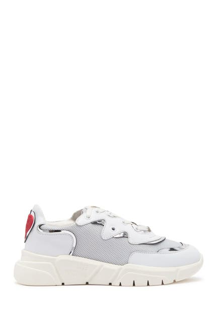 Image of LOVE Moschino Mixed Media Fashion Sneaker