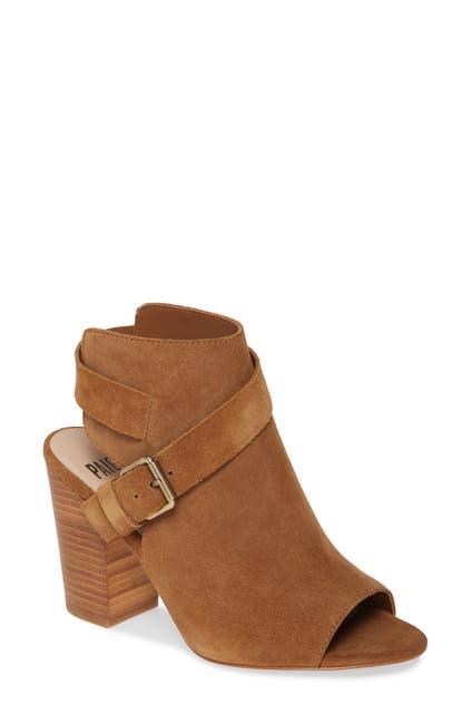 Image of PAIGE Mimi Suede Block Heel Sandal