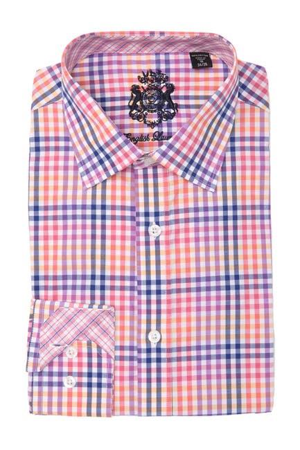 Image of English Laundry Plaid Dress Shirt