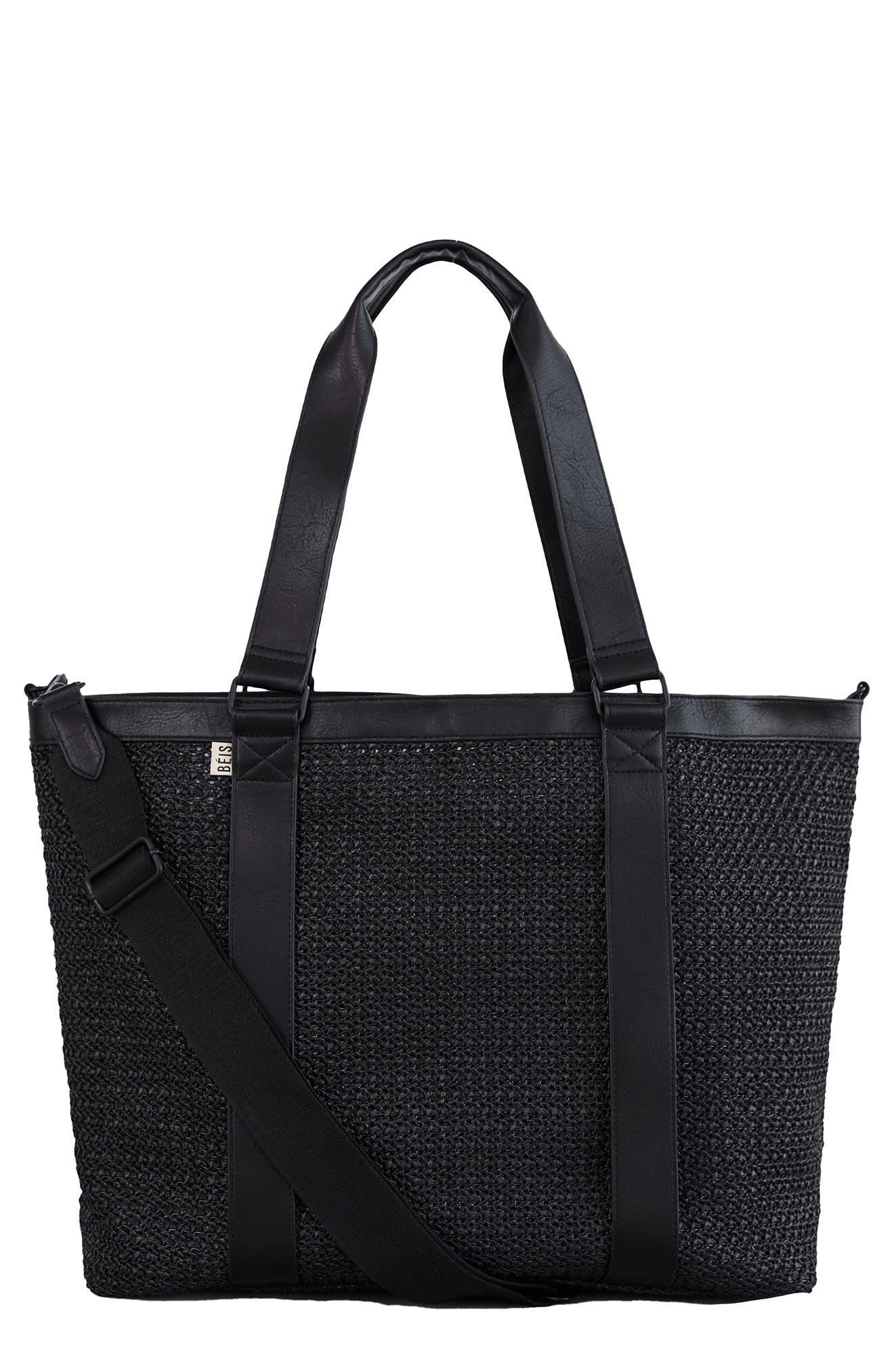 The Naturals Raffia Tote Bag