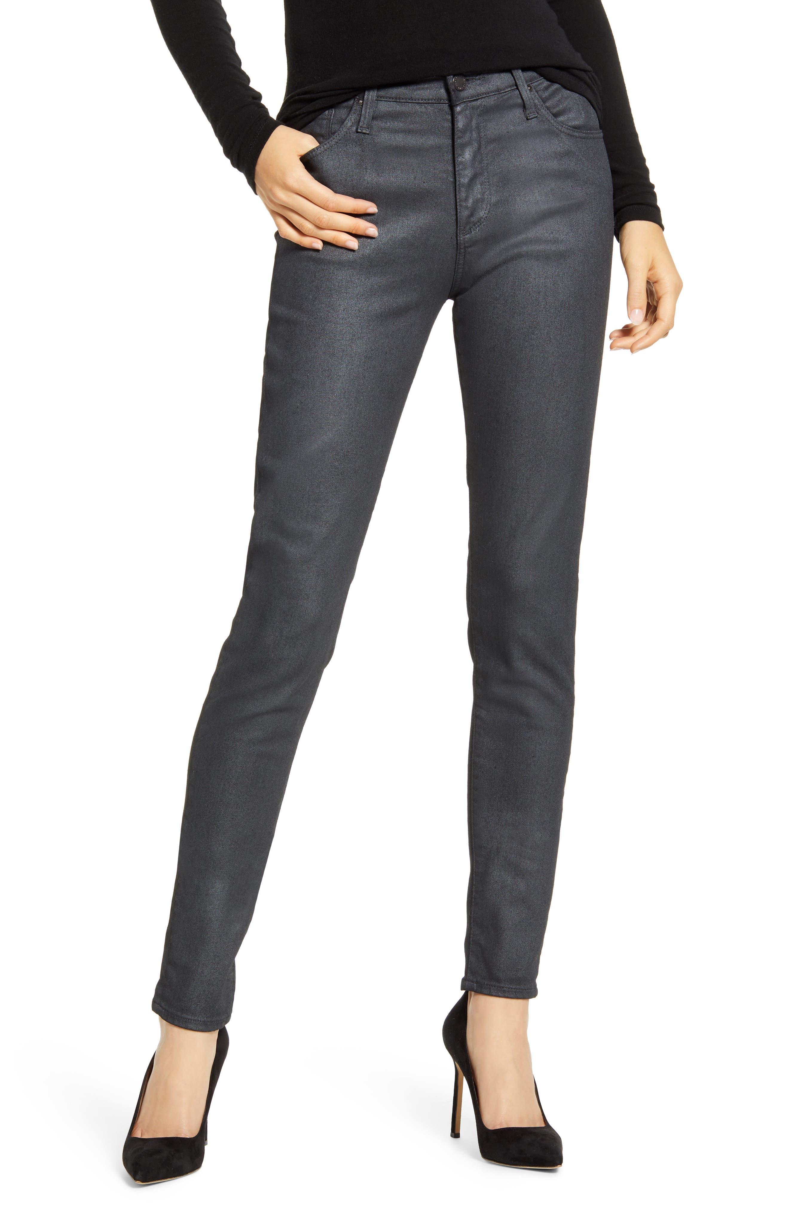 Women's AG The Farrah High Waist Skinny Jeans